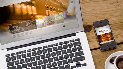 Corporate Design und Website Umsetzung mit OfficeCMS