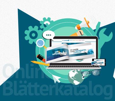 Online Blätterkatalog als Ergänzung auf Ihrer Homepage