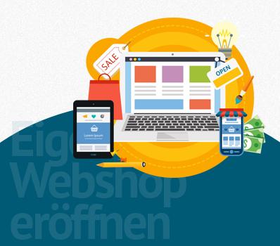 Webshop individuell und professionell erstellt
