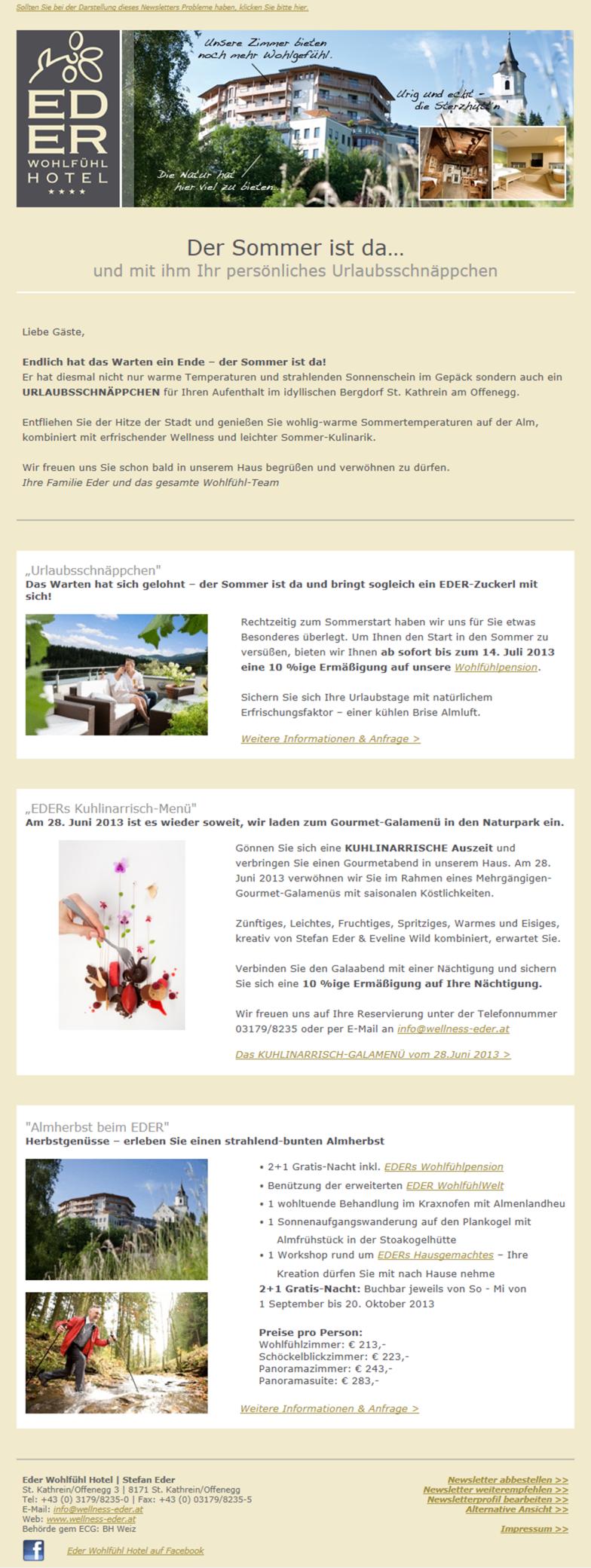 Newslettersystem von der EDV Firma LearnConsult aus Graz
