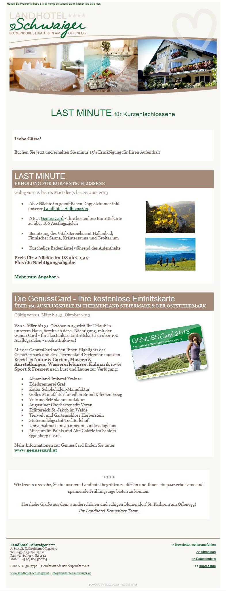 CMS Anbieter mit Newslettersystem aus Graz
