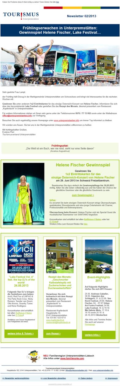 Newsletter Software für Newsletter Marketing