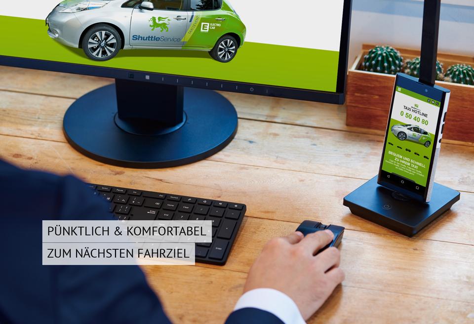 Webdesign und Programmierung für EW Shuttle Service GmbH