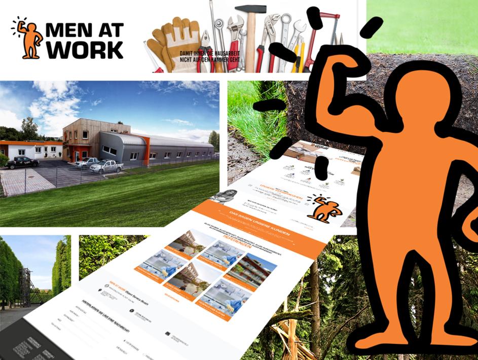 Website Erstellung für men at work Graz
