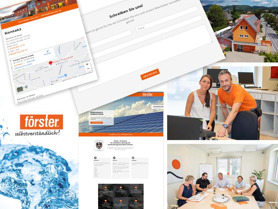 Homepage mit CMS erstellen - Internetagentur Graz