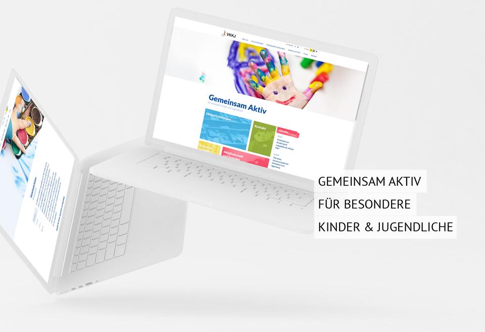 Barrierefreie Homepage für VKKJ