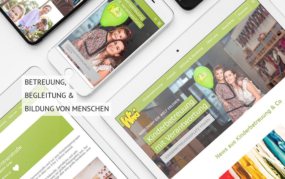 Homepage mit CMS einfach ändern - Wiki Kinderbetreuungs GmbH