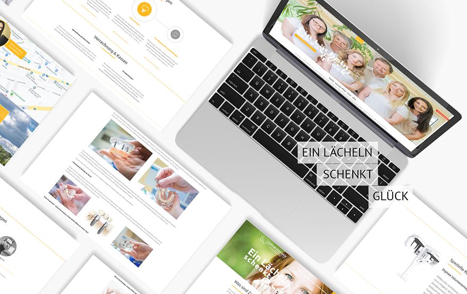 Responsive Webdesign für Zahnarzt Dr. Manfred Siuka