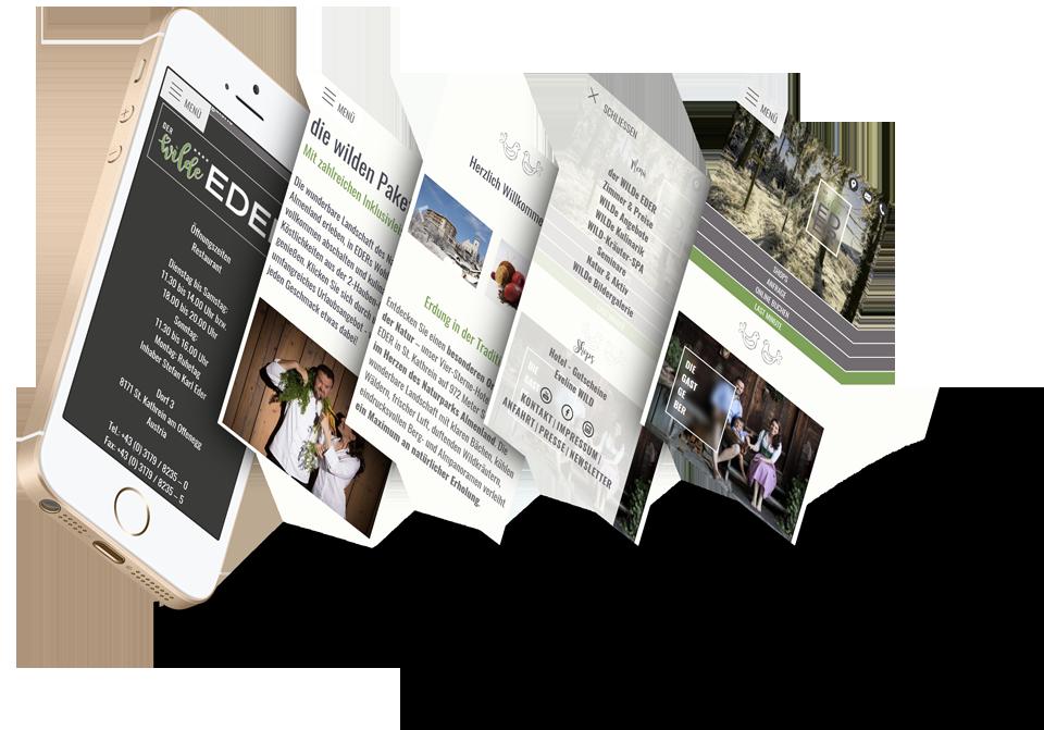 Content Management System OfficeCMS - einfache Befüllung der Homepage-Inhalte