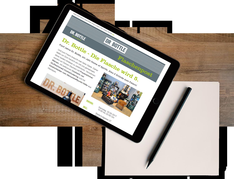 Newsletter selbst erstellen und versenden mit dem power newsletter Tool von LearnConsult