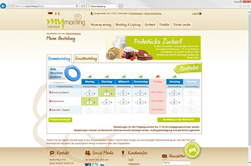 Programmierung Online Shop