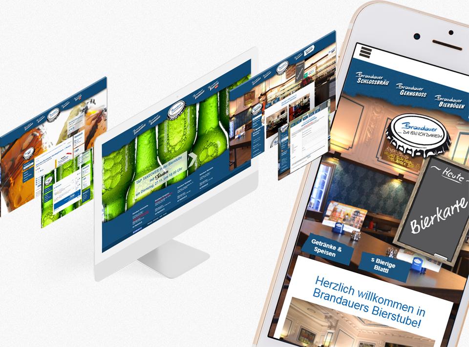 Responsive Webdesign Umsetzung für bierig.at