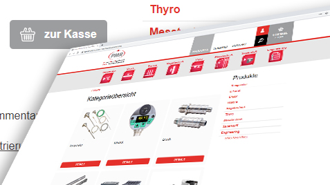 Webshop im responsive Design