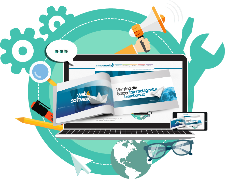 Interaktiver Blätterkatalog für Ihre Homepage