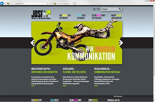 Entwicklung Homepage mit CMS System