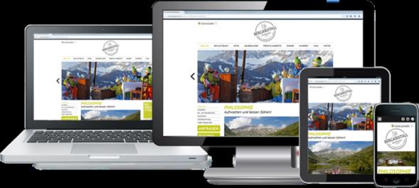 Responsive Webseiten tragen maßgeblich zum Erfolg ihrer Homepage bei.